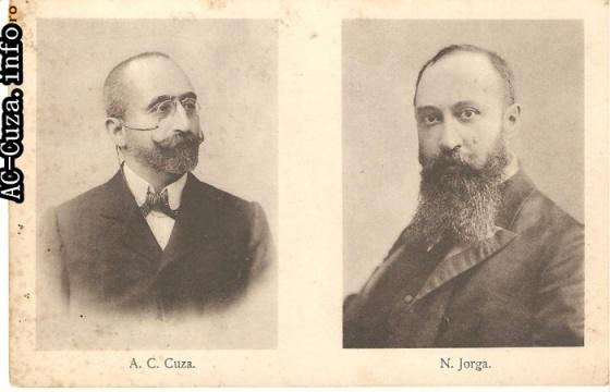 Carte poştală electorală (din arhiva AC-Cuza.info)